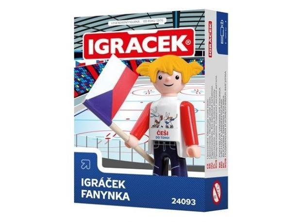 IGRÁČEK - Fanynka II HOKEJ 2015 [HRAČKA]